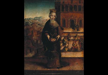 Doação de Sintra pelo rei D. Dinis a D. Isabel de Aragão, a Rainha Santa.