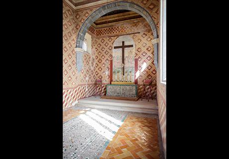 Diogo Teixeira realiza uma nova pintura do Pentecostes para o retábulo do altar-mor da Capela palatina, substituindo a de Nuno Gonçalves.