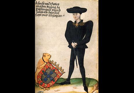 Nascimento de D. Afonso V no Paço, onde haveria também de morrer em 1481.