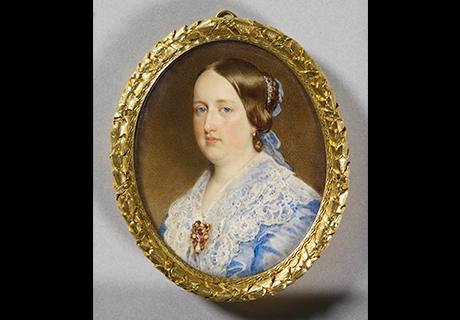 A rainha D. Maria II e D. Fernando II passam o verão no Paço.