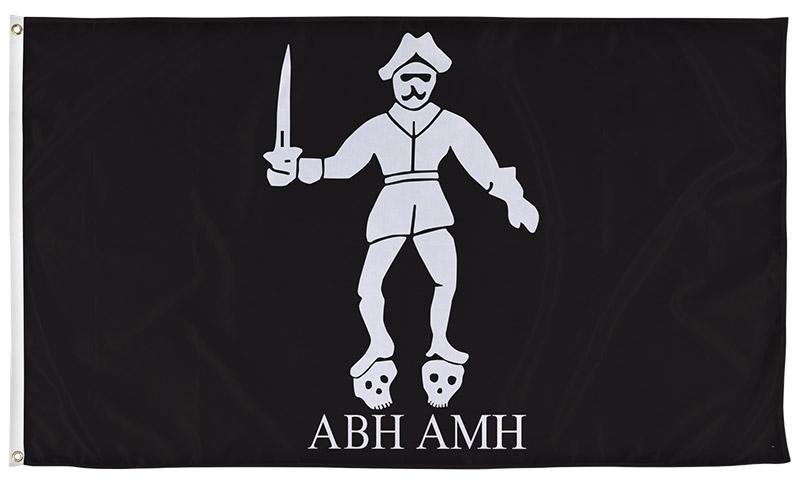 Bartholomew Roberts ABH AMH Flag