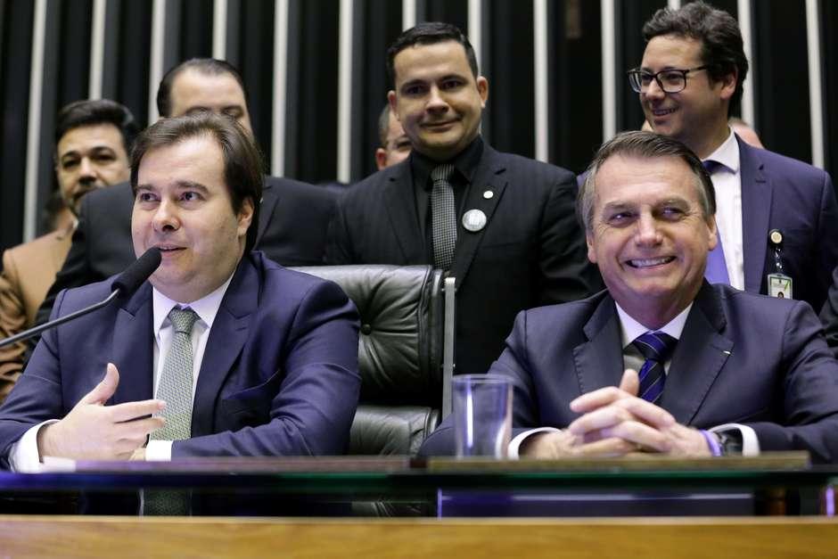 Rodrigo Maia, Presidente da Câmara, em 28/05/2020. Portal Terra.