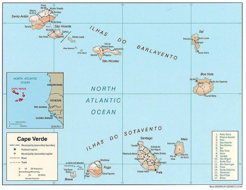 Descoberta de Cabo Verde