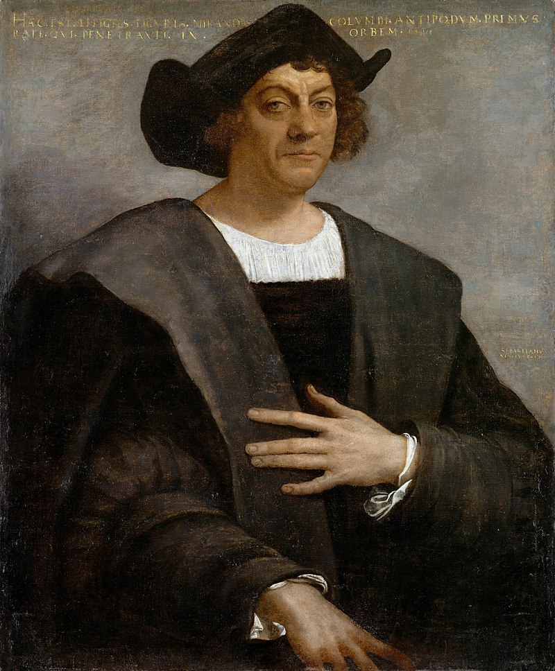 Cristovão Colombo chega à América