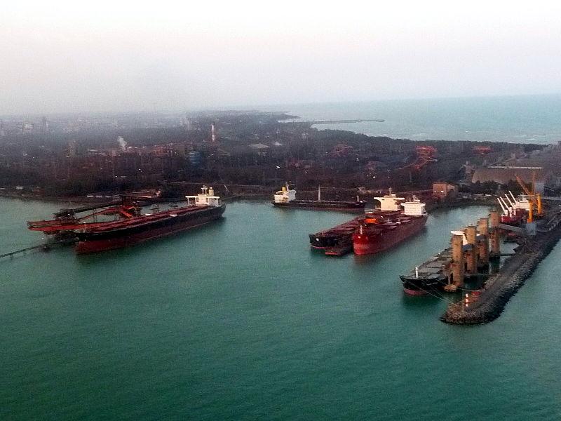Inauguração do porto de Tubarão