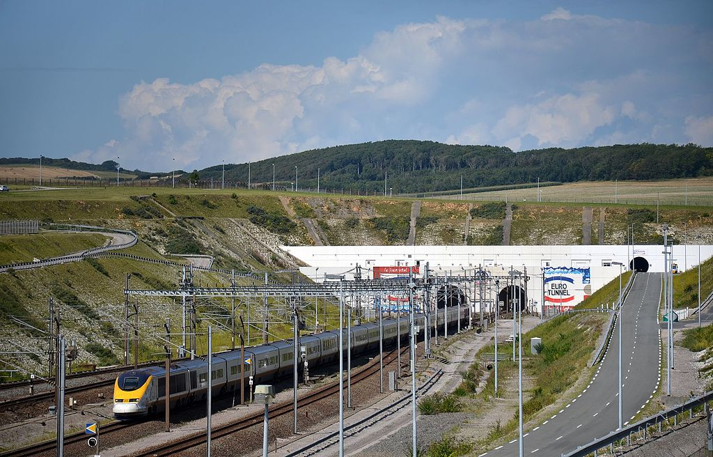 Inauguration of the Eurotunnel