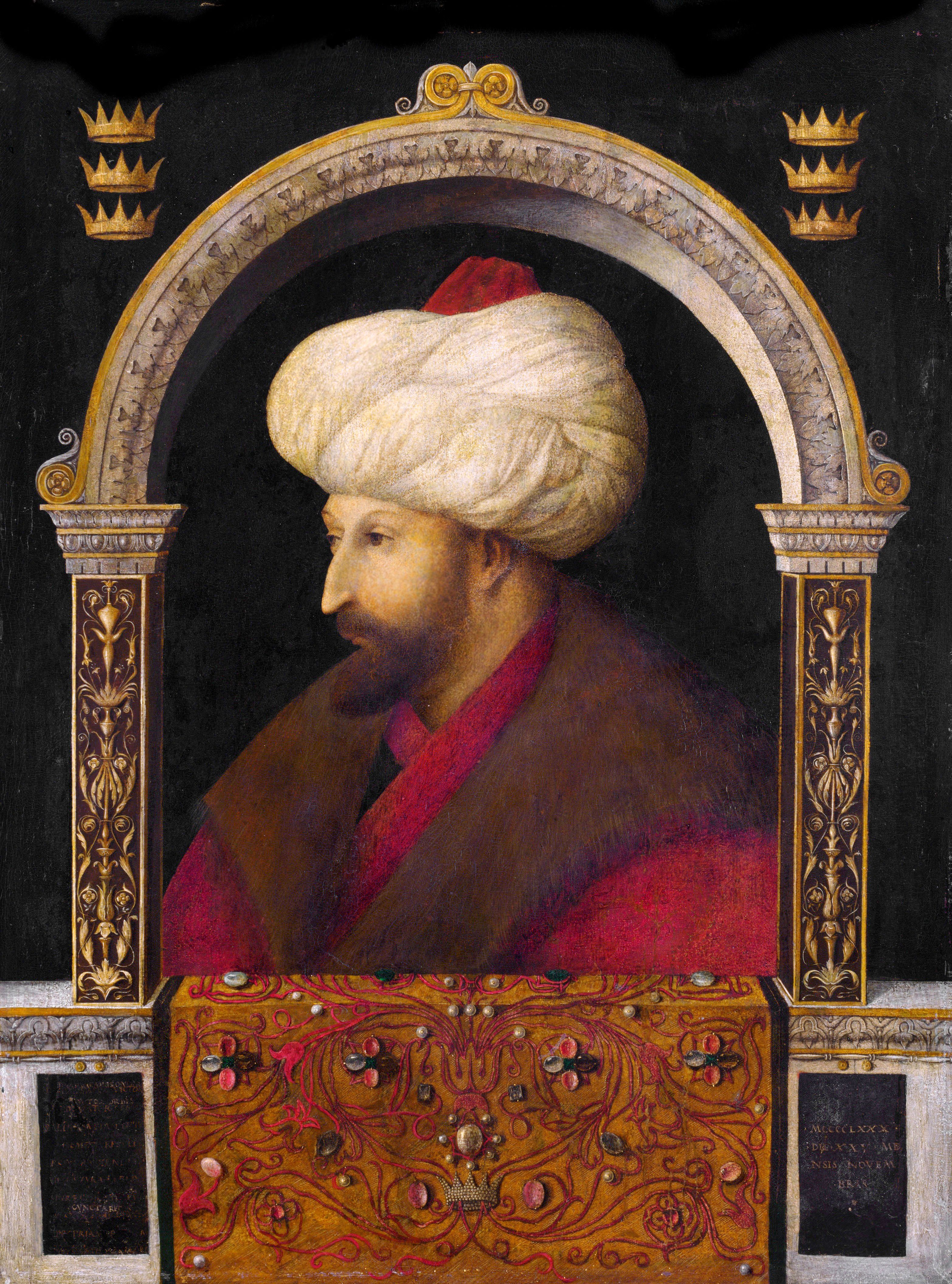 Mehmed II rises to the Ottoman throne