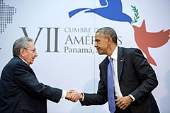 Cuba and the United States reestablish full diplomatic relations, ending a 54-year stretch of hostility between the nations