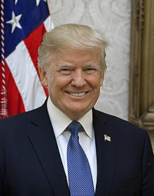 Donald Trump, a Republican New York City businessman, is sworn in as the 45th President of the United States. Trump is the first person to be elected President of the United States who was neither a political office holder or a military general
