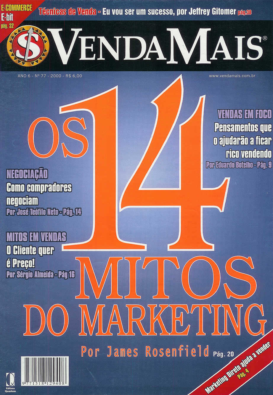 [Set/00] Os 14 mitos do marketing