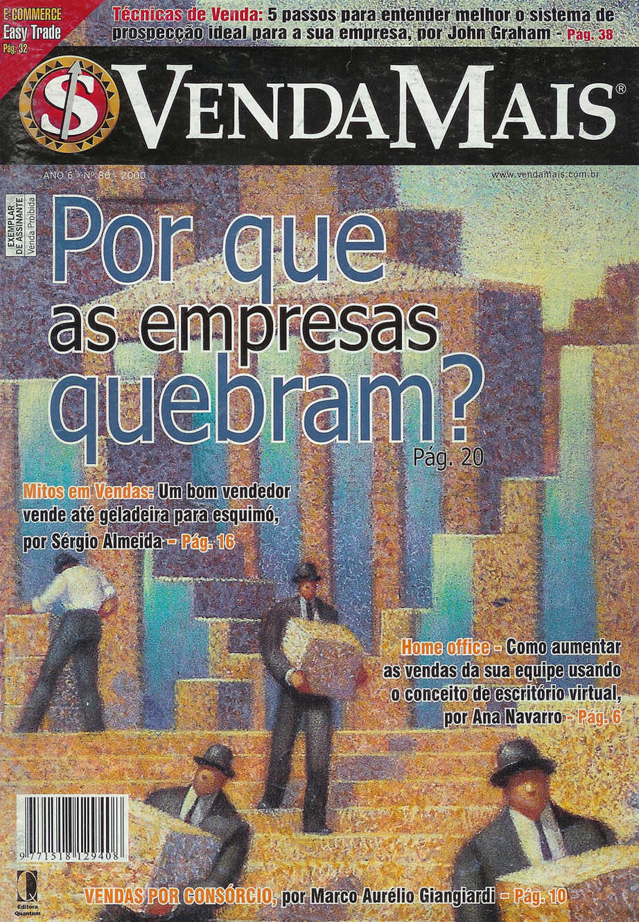 [Dez/00] Por que as empresas quebram?