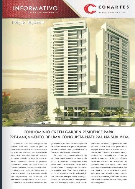 Pré Lançamento Condomínio Green Garden Residence Park