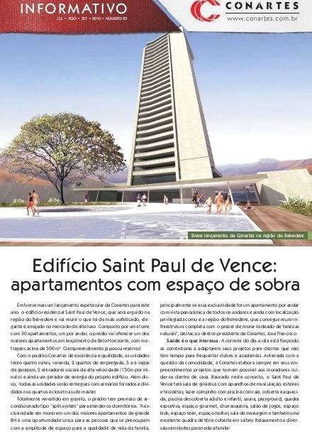 Ed Saint Paul de Vence: apartamentos com espaço de sobra