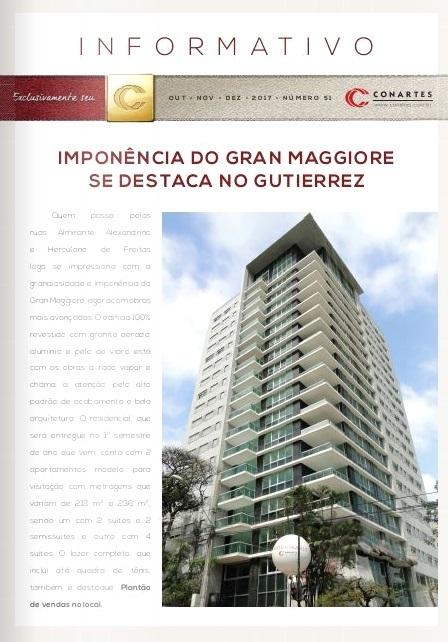 Imponência do Gran Maggiori de destaca no Gutierrez