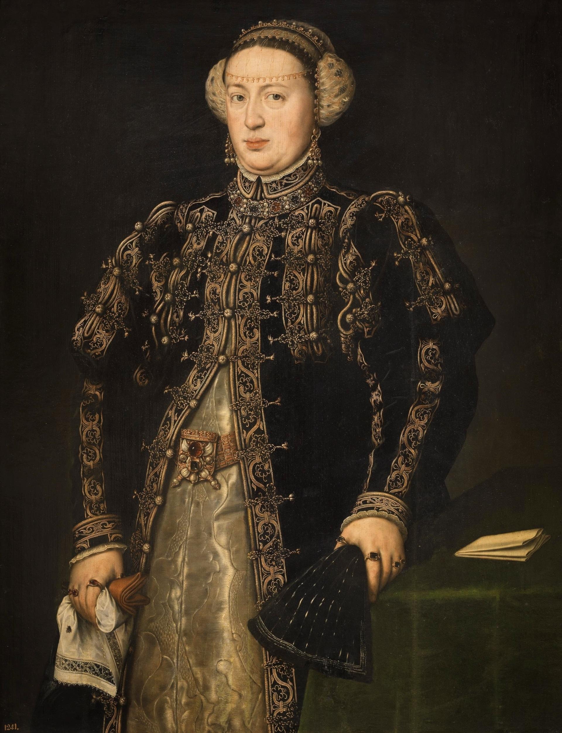 A rainha D. Catarina de Áustria, mulher de D. João III, é senhora de Sintra