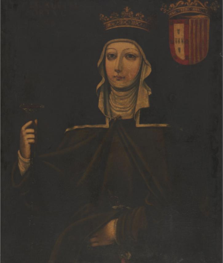 A rainha D. Isabel de Aragão, mulher de D. Dinis, é senhora de Sintra