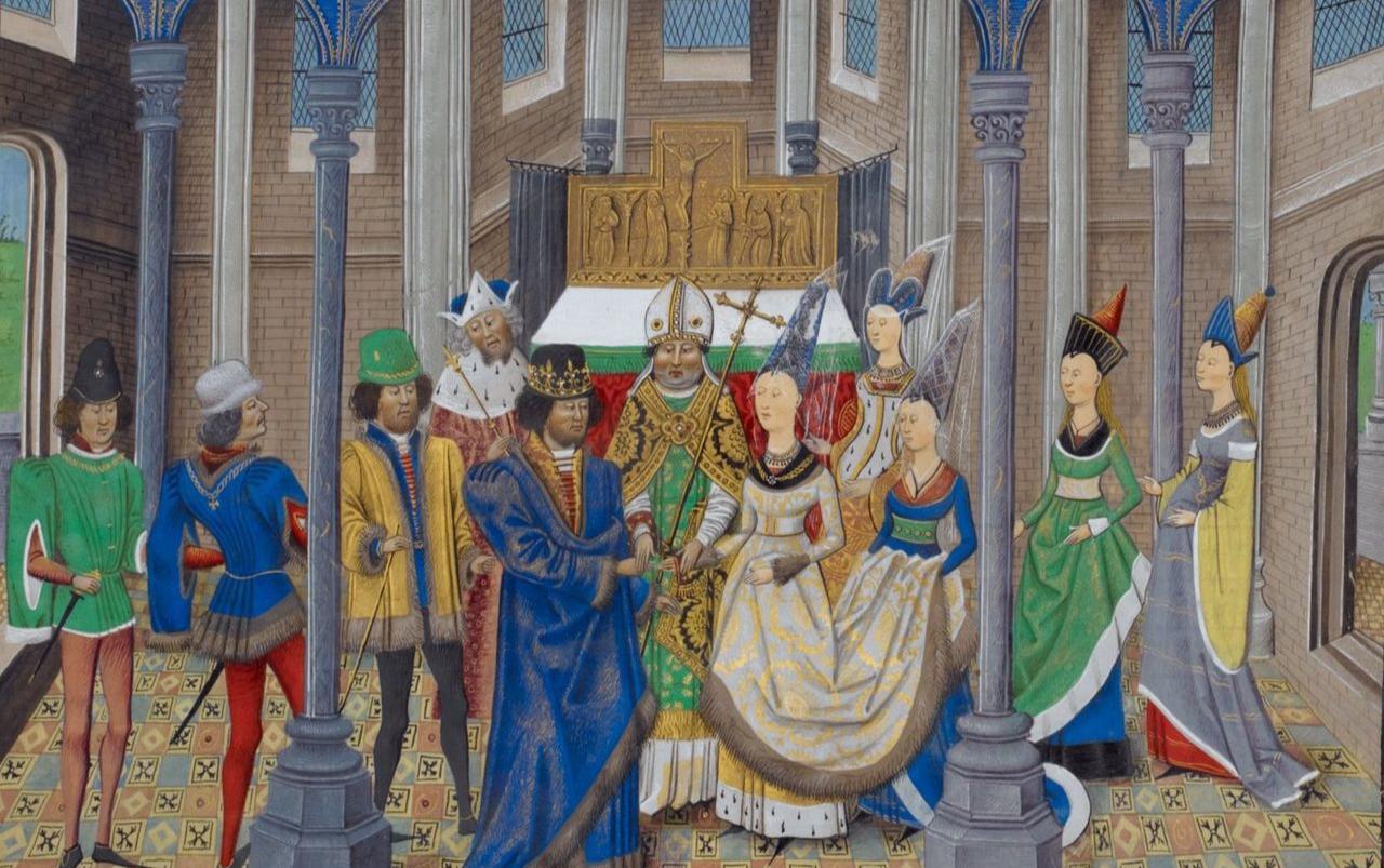 A rainha D. Filipa de Lencastre, mulher de D. João I, é senhora de Sintra