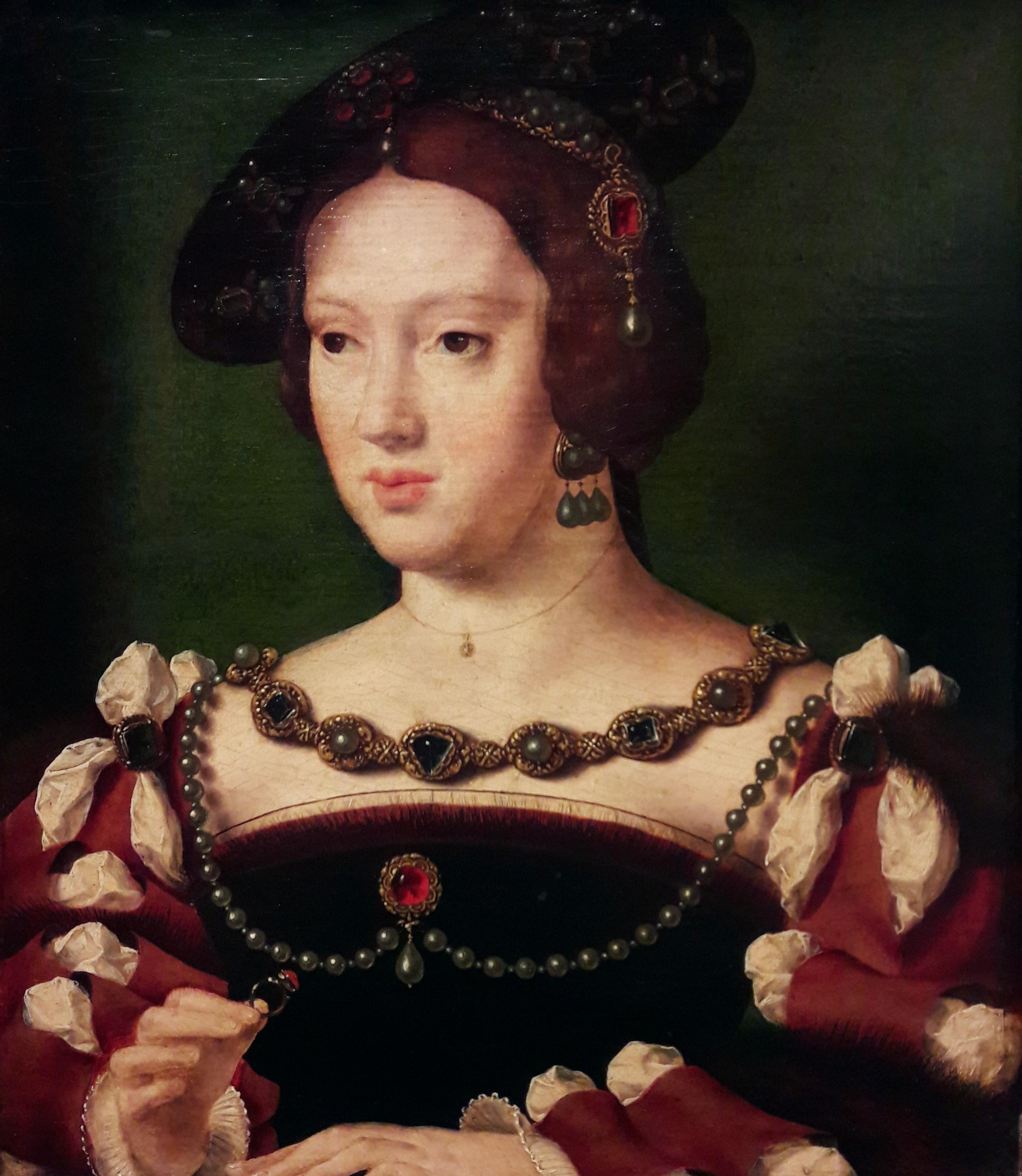 A rainha D. Leonor de Áustria, mulher de D. Manuel I, é senhora de Sintra