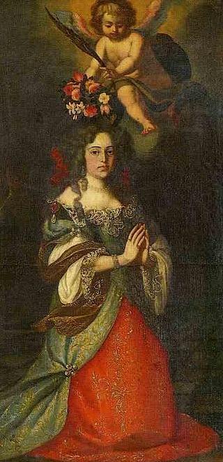 A rainha D. Maria Francisca de Saboia, mulher de D. Afonso VI e de D. Pedro II, é senhora de Sintra