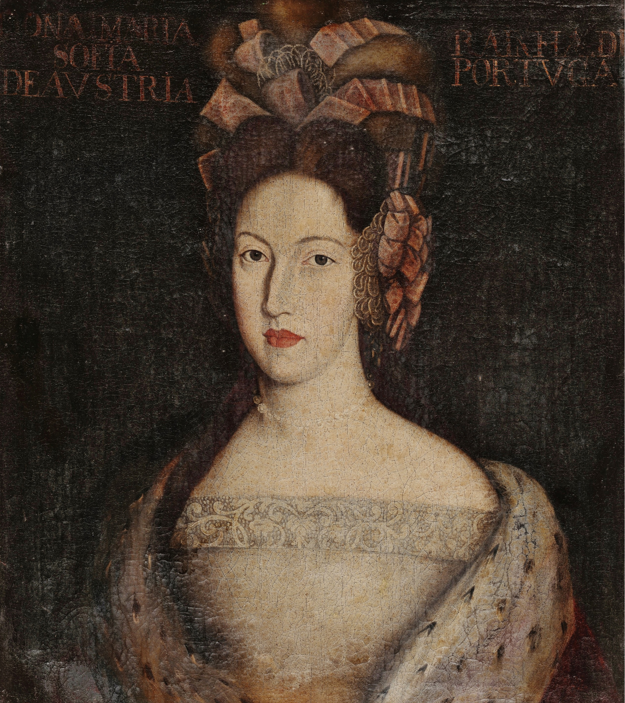 A rainha D. Maria Sofia Isabel de Neuburgo, segunda mulher de D. Pedro II, é senhora de Sintra