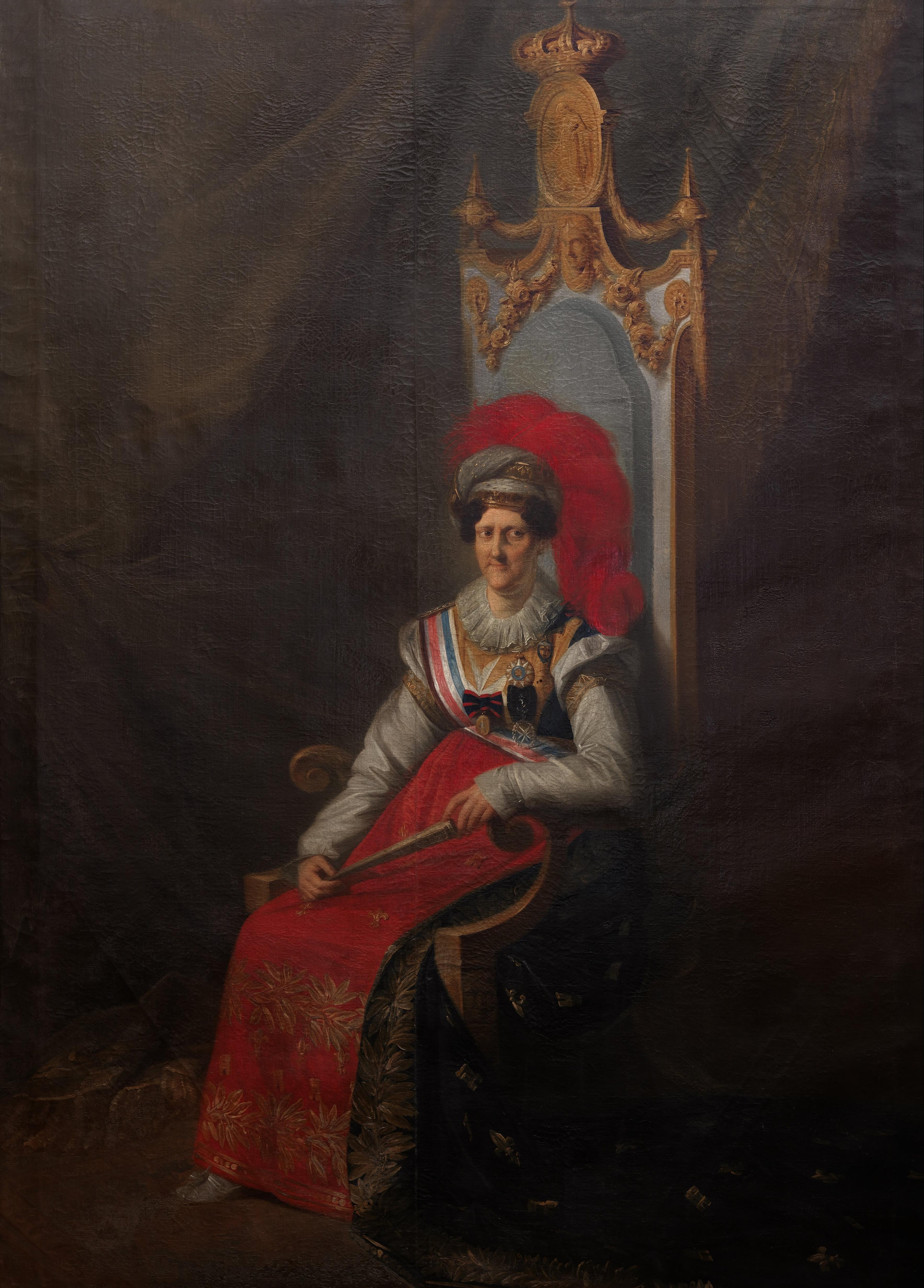 A rainha D. Carlota Joaquina, mulher de D. João VI, é senhora de Sintra
