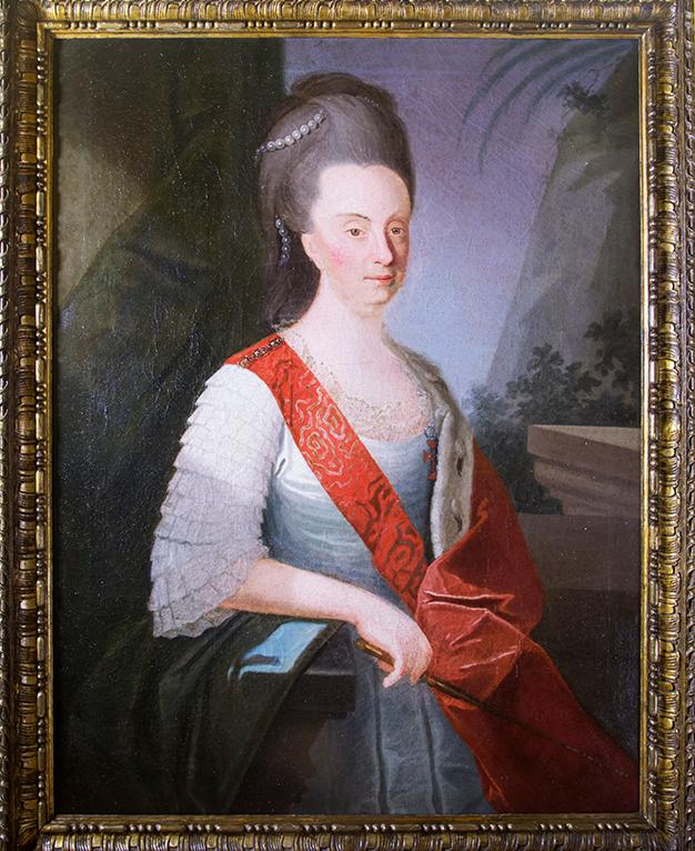 A rainha D. Maria I é senhora de Sintra