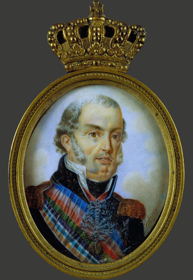O príncipe D. João assume a regência em nome de D. Maria I