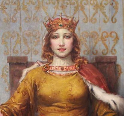 A rainha D. Leonor de Lencastre, mulher de D. João II, é senhora de Sintra