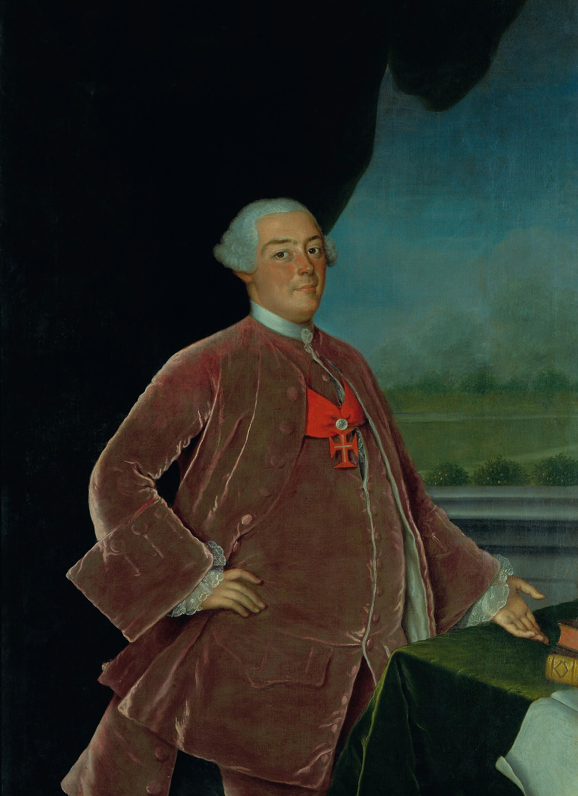 Infante D. Pedro de Bragança, Duque de Beja, Grão-prior do Crato e 3º Senhor da Casa do Infantado. 1742-1786.