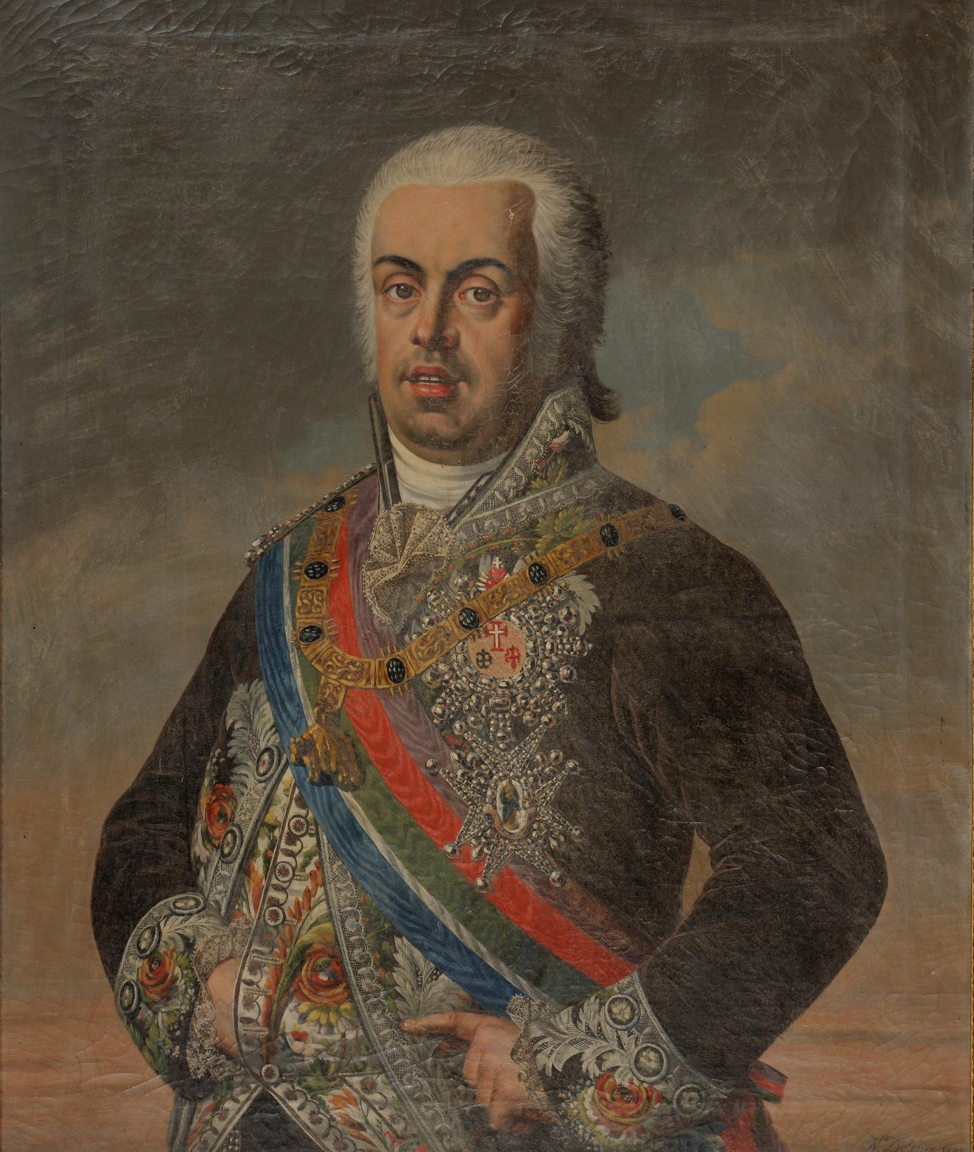 Infante D. João de Bragança, Duque de Beja, Grão-prior do Crato, 4º Senhor da Casa do Infantado. 1742-1816.