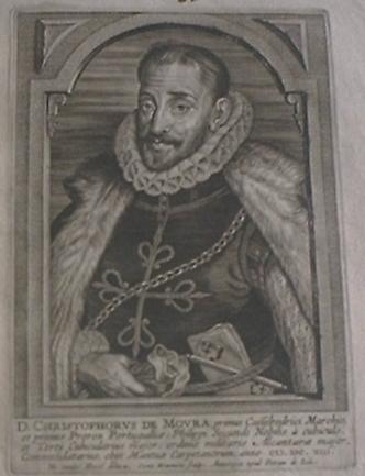 D. Cristóvão de Moura (1538-1613), 1º Marquês de Castelo Rodrigo. 1581-1613.