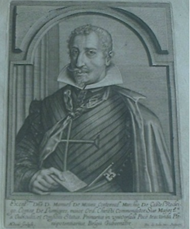 D. Manuel de Moura Corte-Real (1592-1652), 2ºMarquês de Castelo Rodrigo e 1º Conde de Lumiares. 1613-1640.
