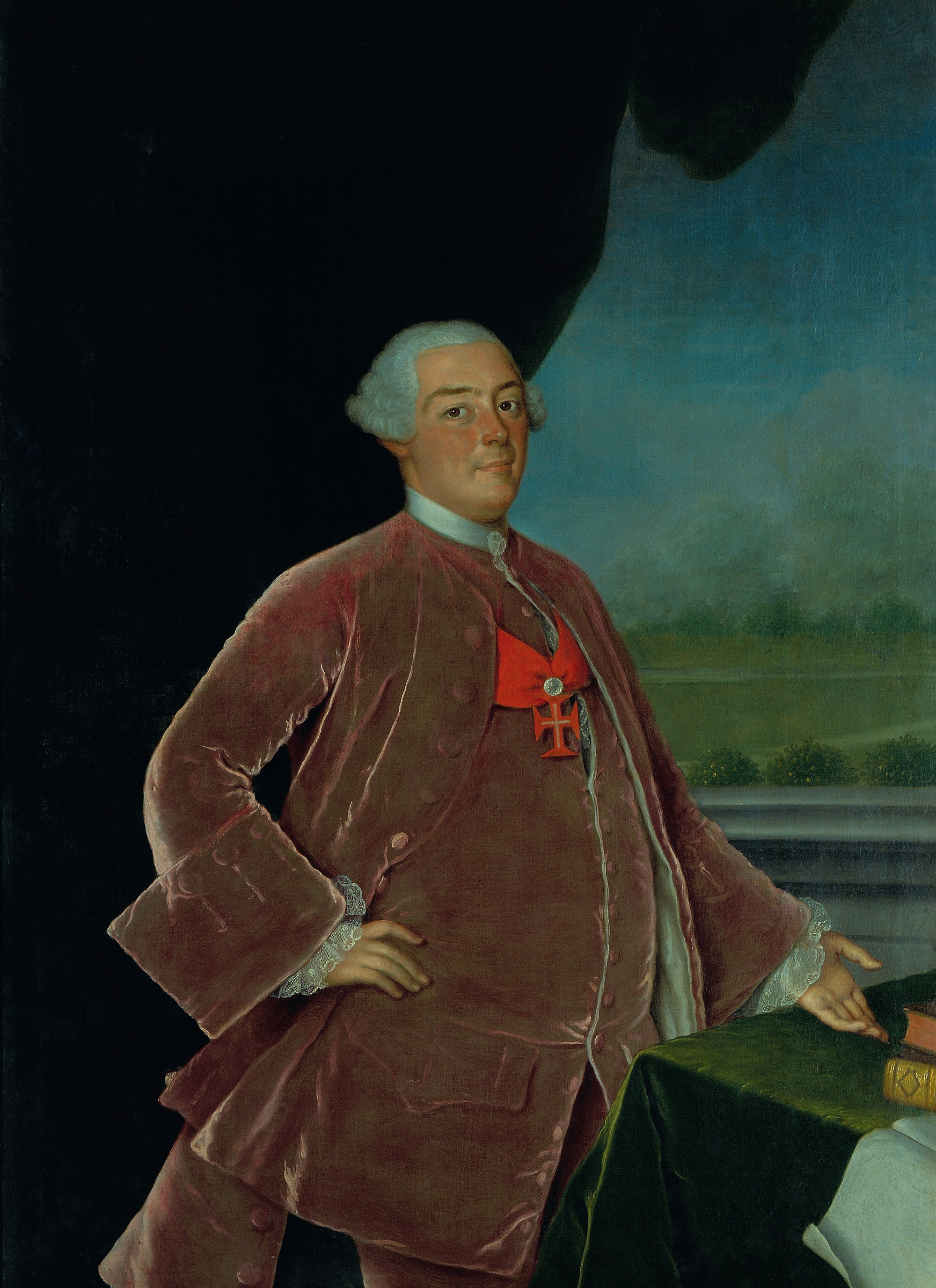 Infante D. Pedro de Bragança, 3º Senhor da Casa do Infantado, amplia a Quinta de Queluz à dimensão de um palácio real