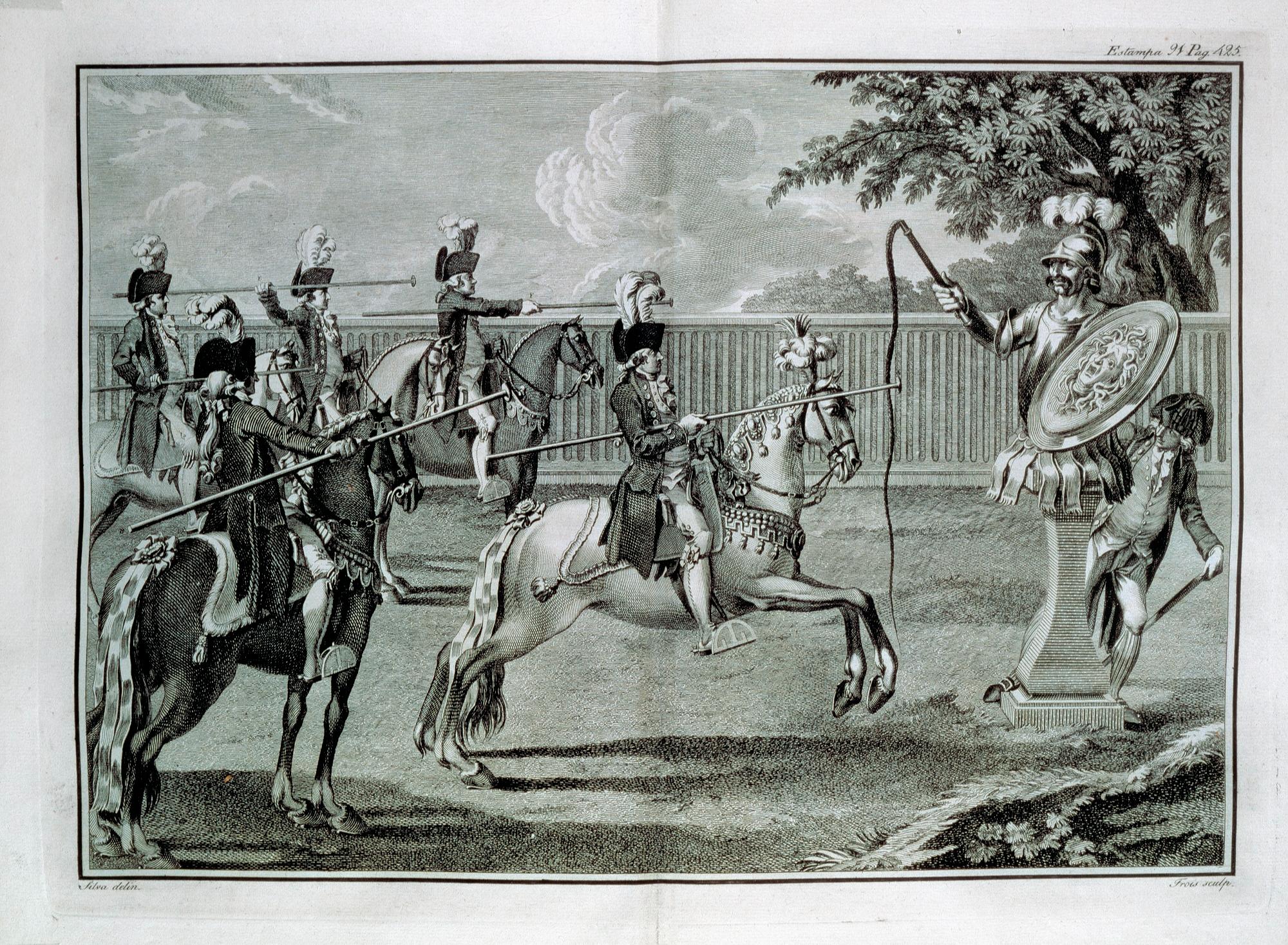 Festejos em honra de S. João e S. Pedro.1758