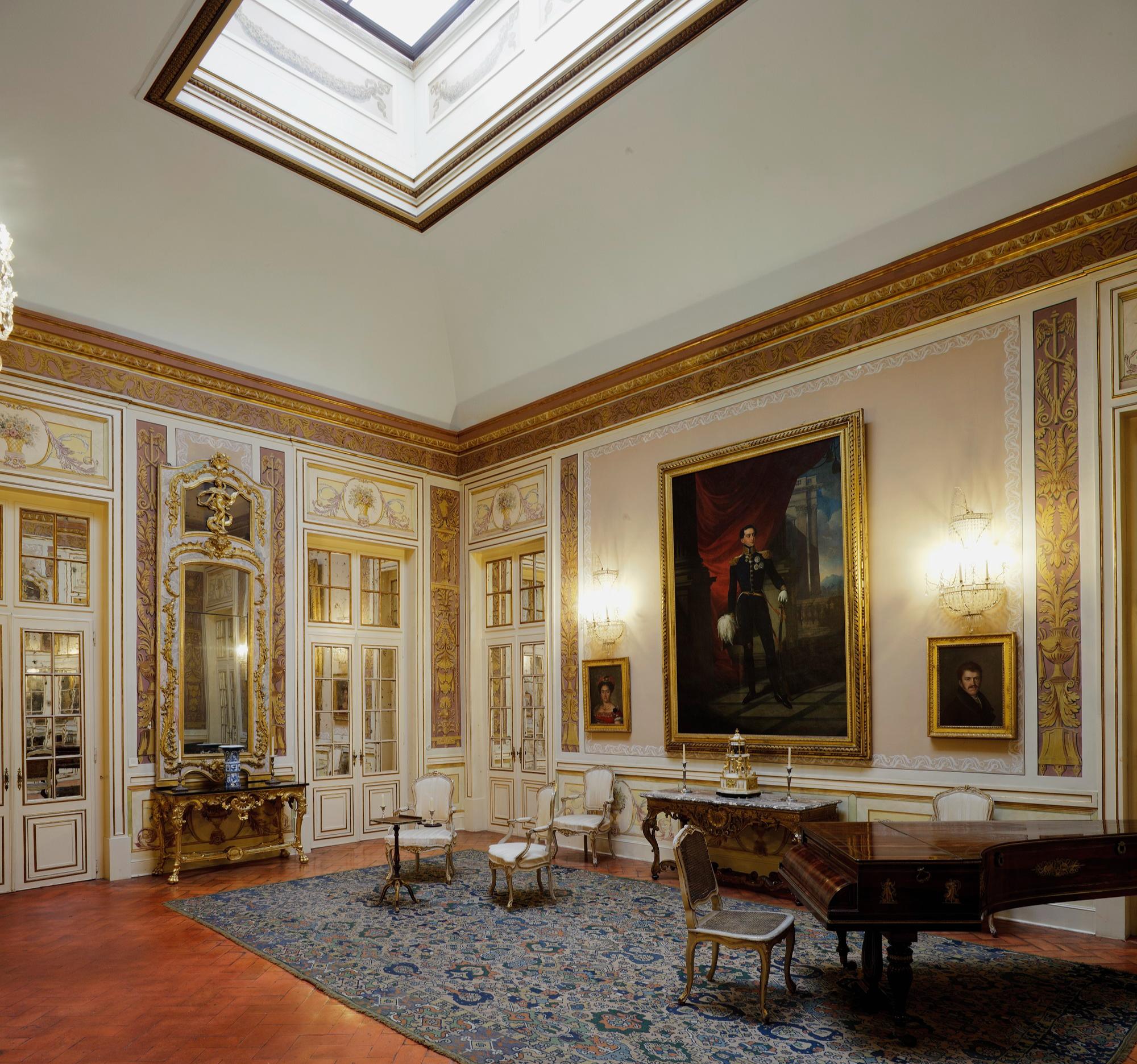 O General Junot prepara o Palácio de Queluz para receber o Imperador Napoleão Bonaparte