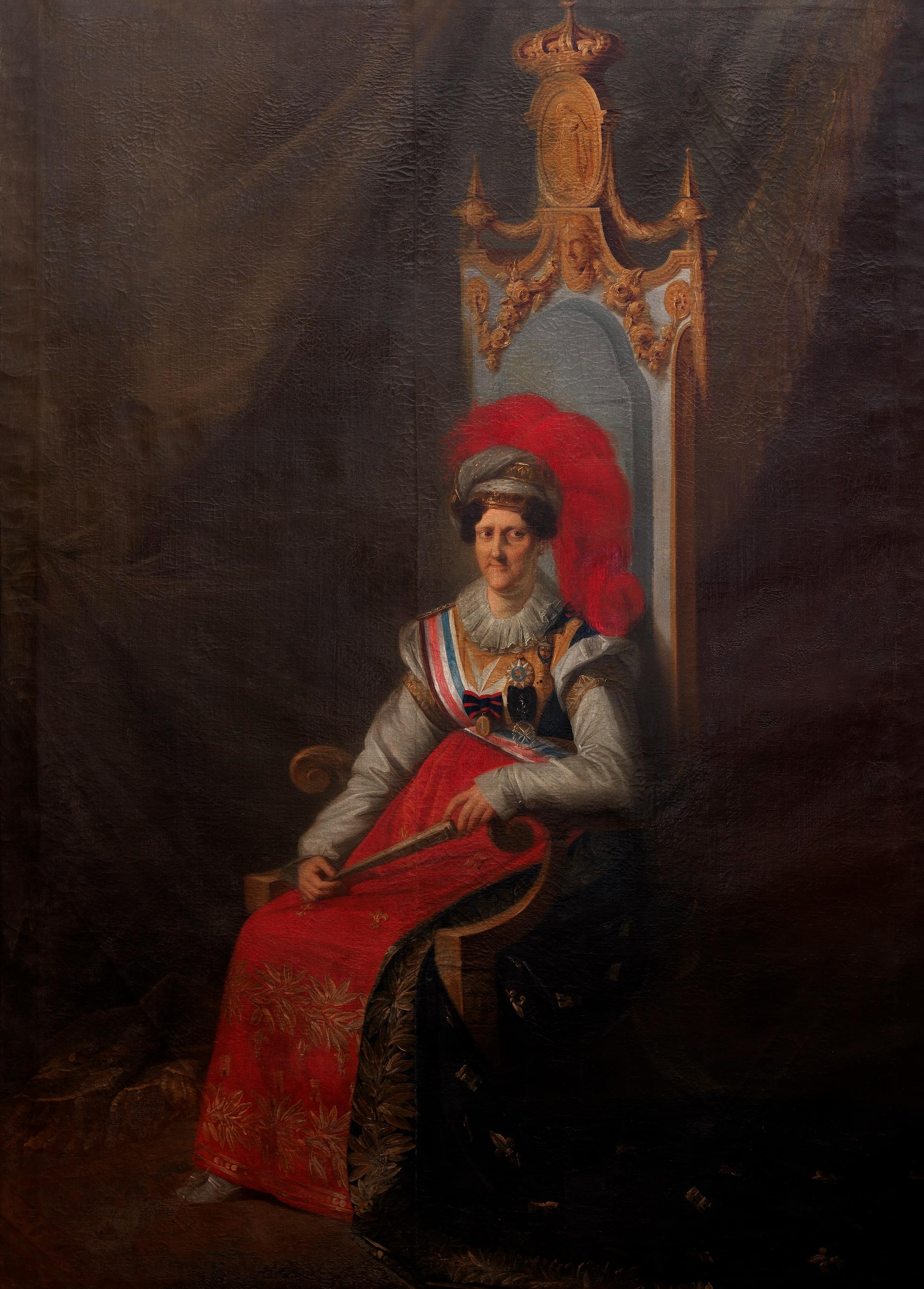 A rainha D. Carlota Joaquina vive exilada na Real Quinta de Queluz