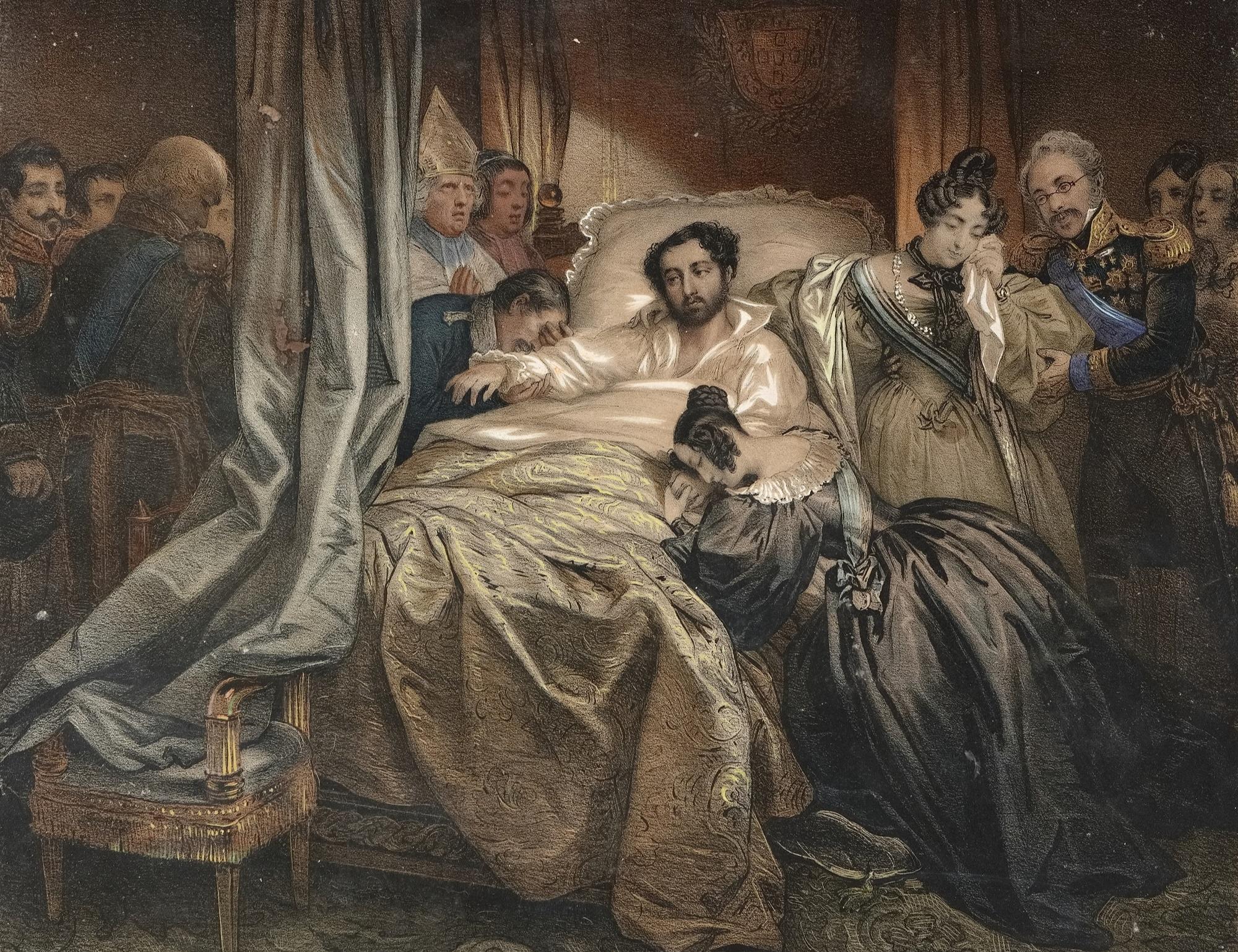 D. Pedro, Duque de Bragança, morre no Quarto D. Quixote