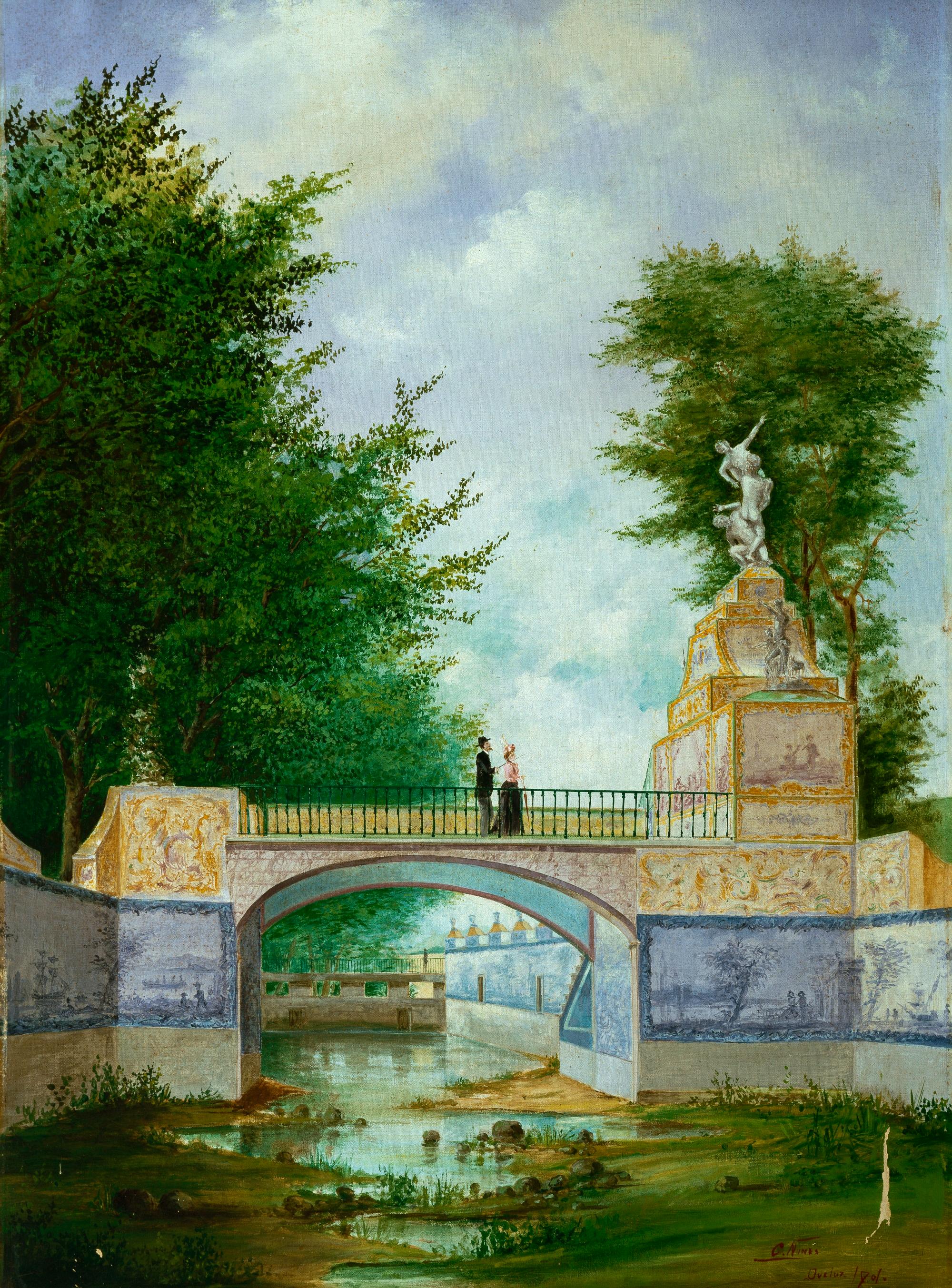 Obras de beneficiação promovidas pela rainha D. Amélia