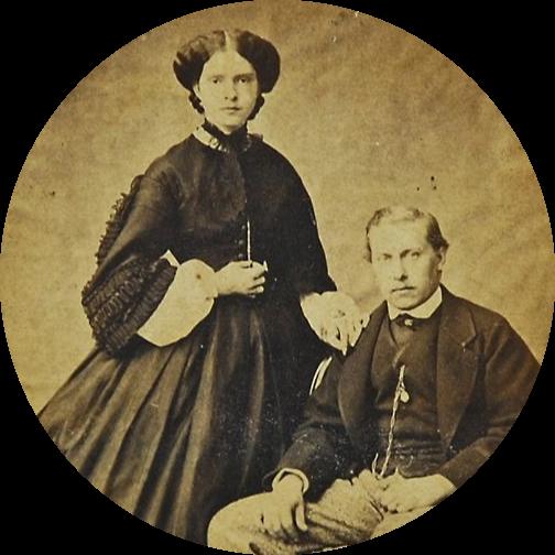 D. Luís e D. Maria Pia de Portugal