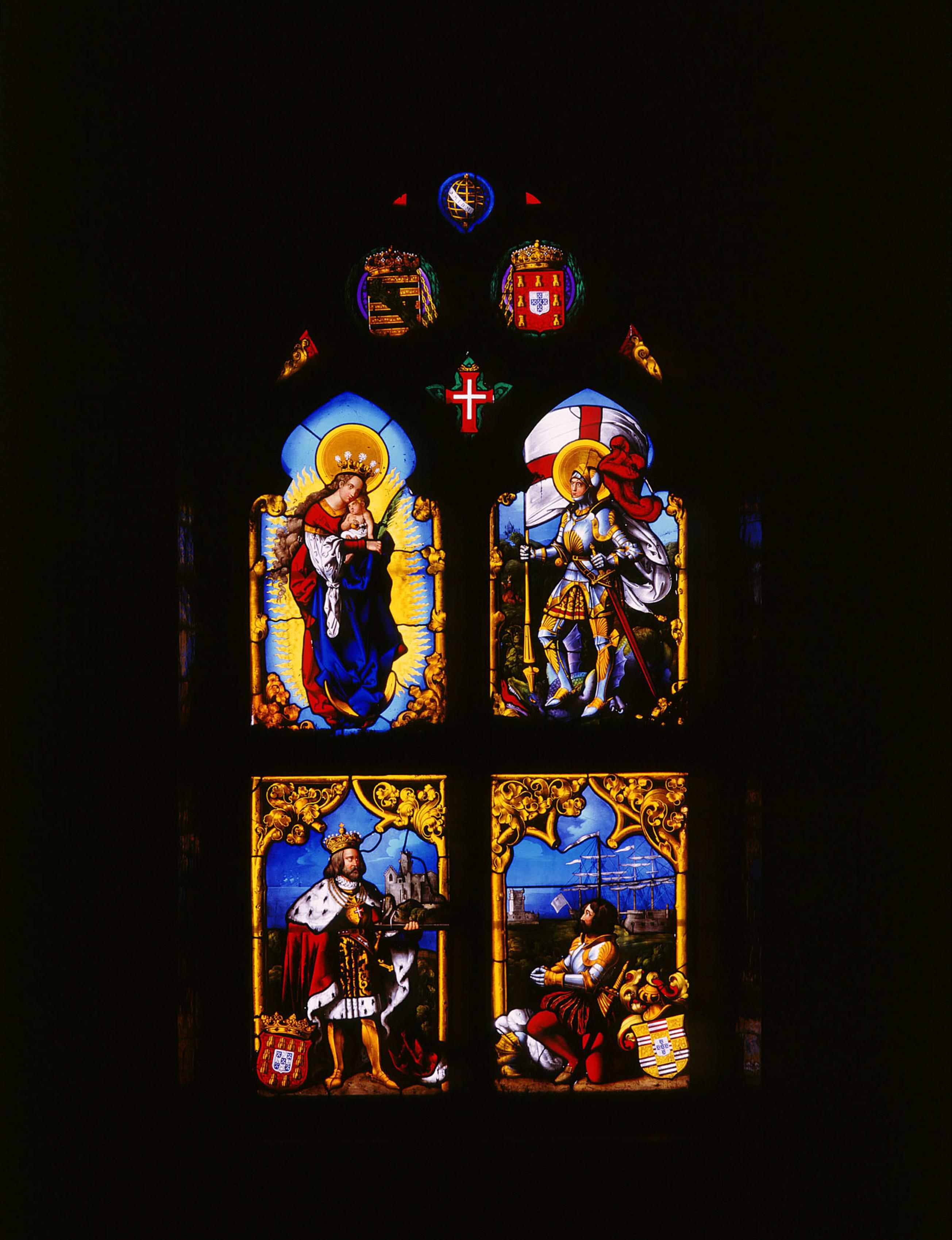 Vitrais da Capela do Palácio da Pena