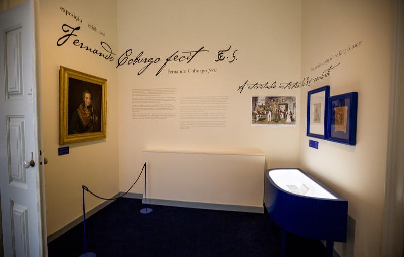 Exposição comemorativa do nascimento de D. Fernando II