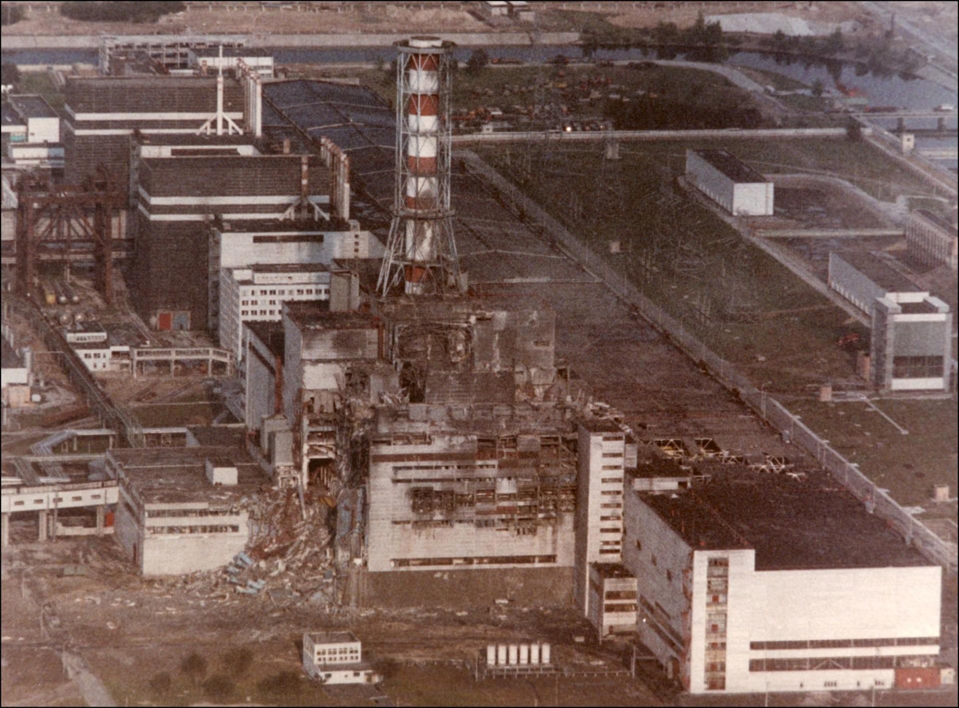 Tsjernobyl ramp