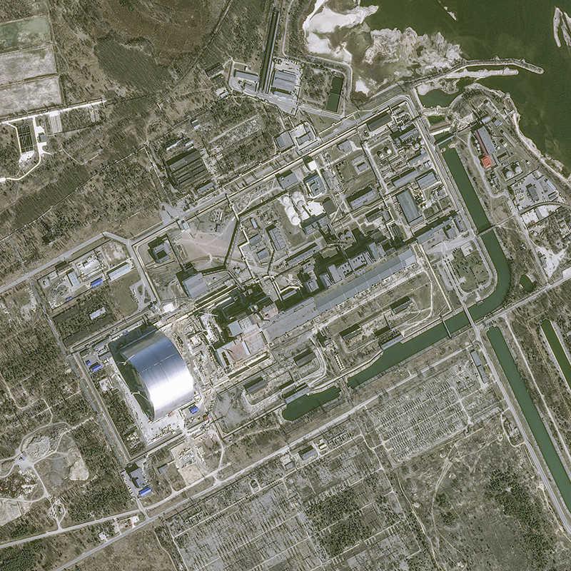 Amerikaanse satellietfoto's