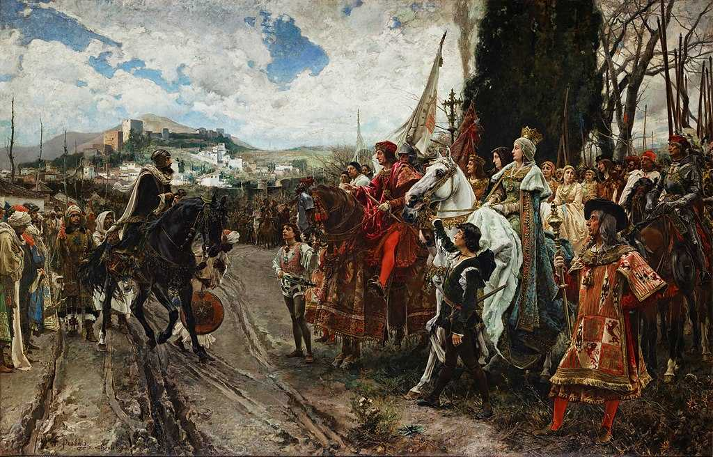 The Capitulation of Granada. End of Islamic rule on the Iberian peninsula