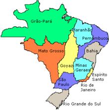 O Tratado de Madri entre Espanha e Portugal cria um Brasil maior