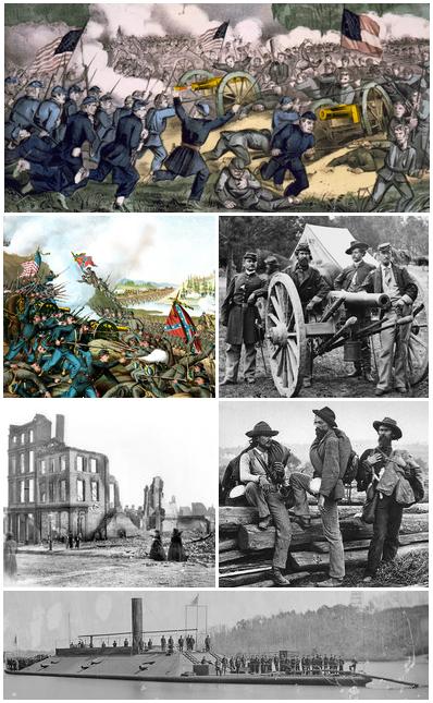 Inicio da Guerra Civil Americana