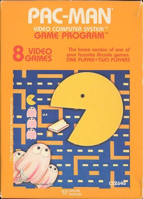 Pac Man - Atari 2600