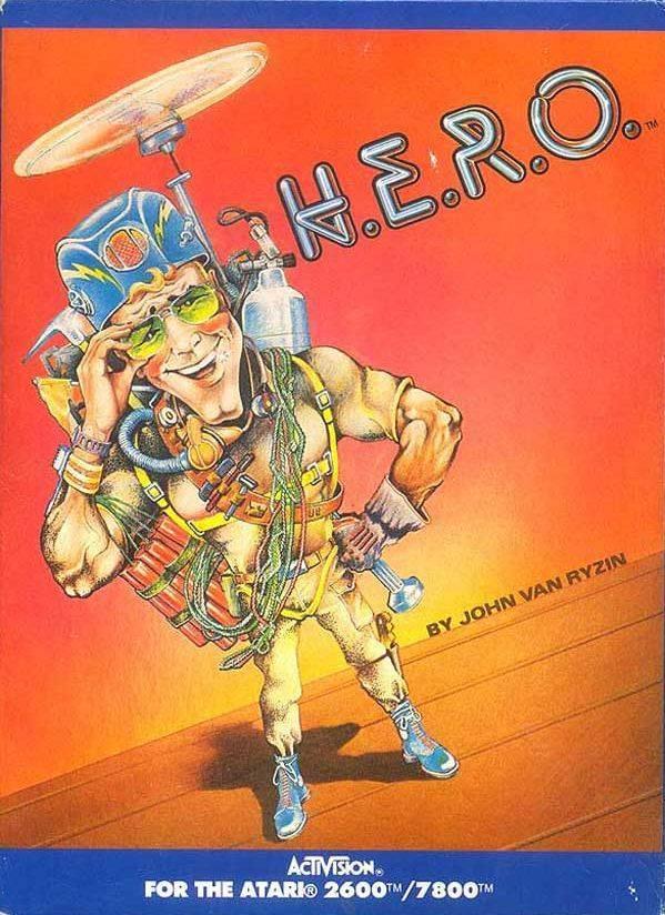 H.E.R.O. - Atari 2600