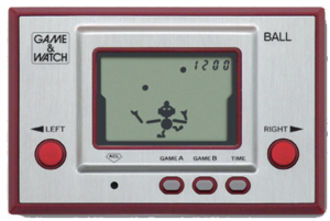 Game & Watch Silver