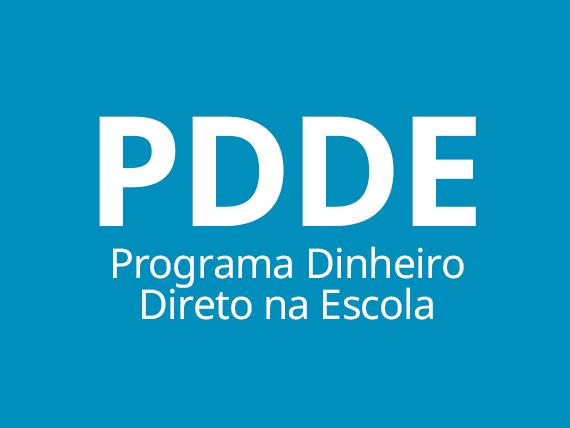 Programa Dinheiro Direto na Escola - PDDE
